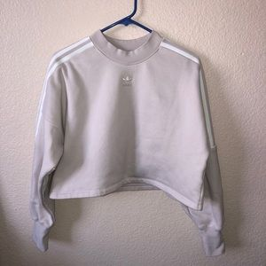 Adidas cropped fleece